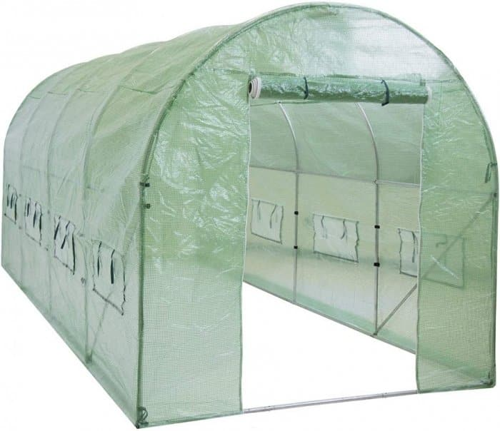 Best Choice Products 15x7x7ft Walk-in Greenhouse Tunnel Tent