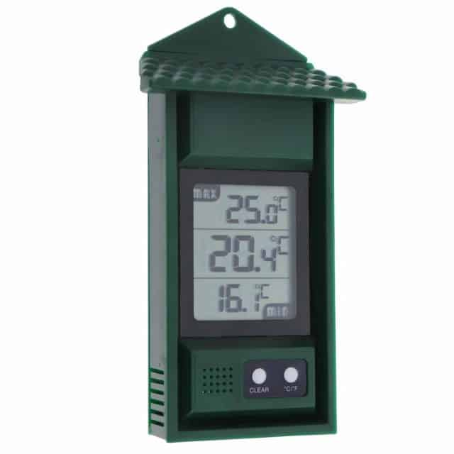 greenhouse accessories: digital greenhouse thermometer
