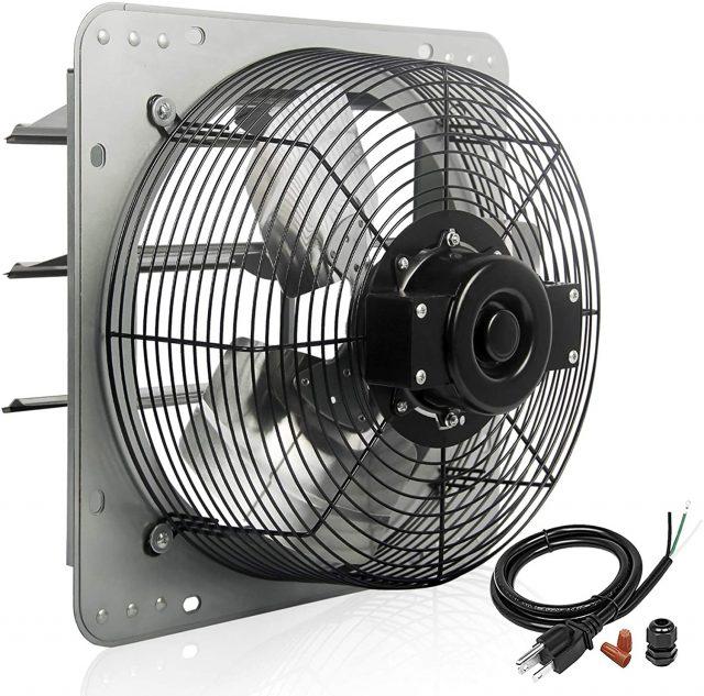 VENTISOL 12 Inch Shutter Exhaust Fan