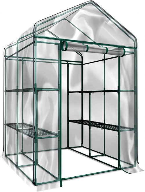 types of greenhouses-Home-Complete HC-4202 Walk-In Greenhouse