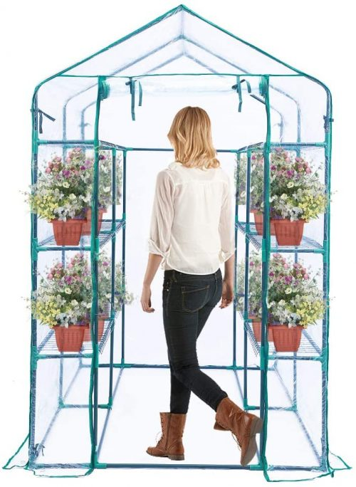 types of greenhouses-Worth Garden - Walk - in Greenhouse