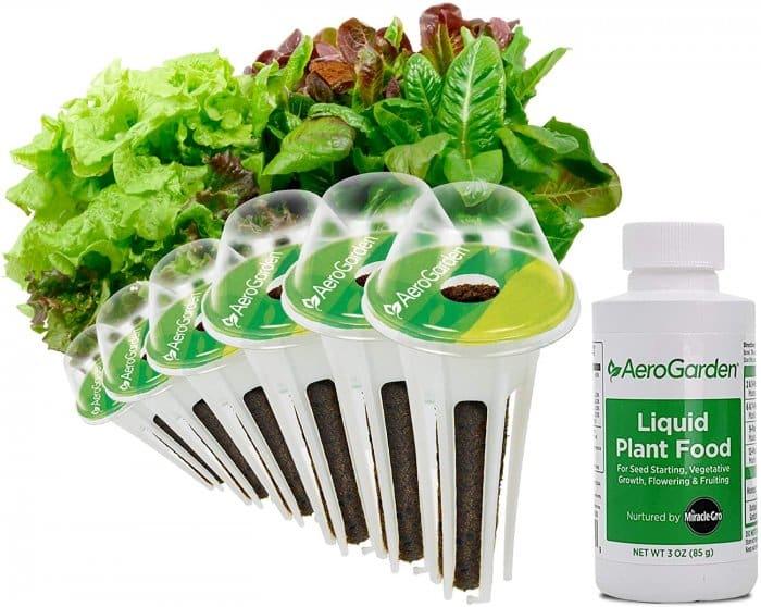 AeroGarden Heirloom Salad Greens Seed Pod Kit